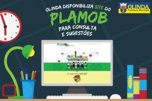 Plano de Mobilidade de Olinda está aberto para sugestões na internet No site do PLAMOB, o morador poderá consultar o calendário de atividades e baixar todo o material produzido nos debates sobre o plano